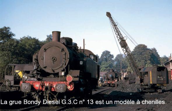 En 1969, le personnel du dépôt de Nogent-Vincennes effectué les opérations courantes sur les 141TB422 et 463 garées au niveau de la sablerie devant une troisième TB. La grue Bondy Diesel G.3.C n° 13 est un modèle à chenilles.